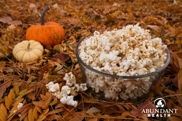 Holiday Spice Popcorn